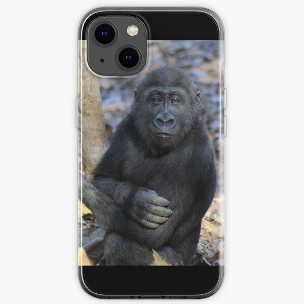 Gorilla Mija im Zoo Atlanta iPhone Flexible Hülle