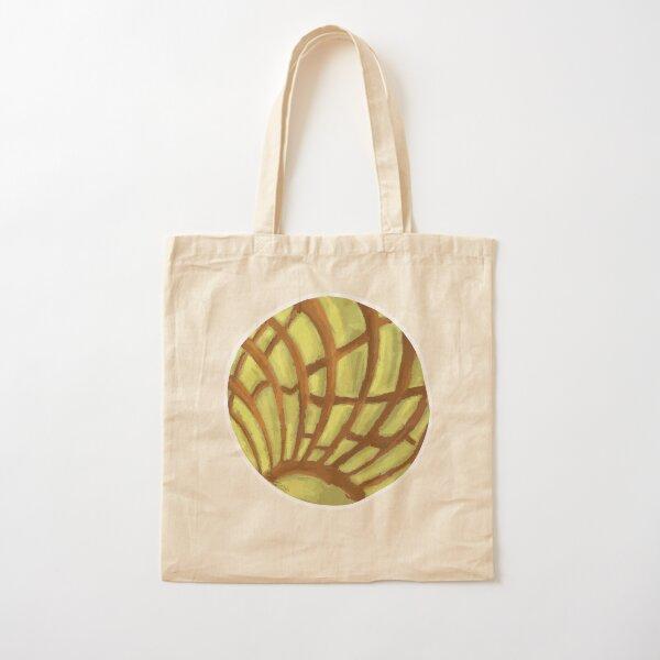 Yellow Concha Pan Dulce Cookie  Cotton Tote Bag