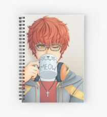 Mystic Messenger - Catface Spiral Notebook