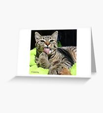 Determined Greeting Card