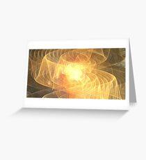 Warm Sun Ribbons Greeting Card