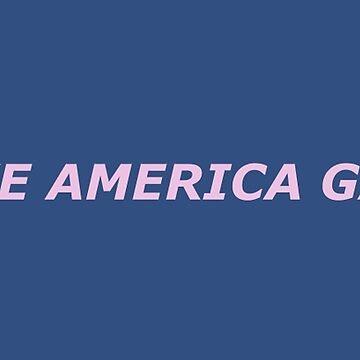 Lass uns Amerika wieder schwul machen - Pink von PlatypusDoodles