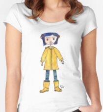 Girl in a Raincoat Women's Fitted Scoop T-Shirt
