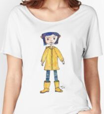 Girl in a Raincoat Women's Relaxed Fit T-Shirt