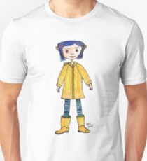 Girl in a Raincoat Unisex T-Shirt