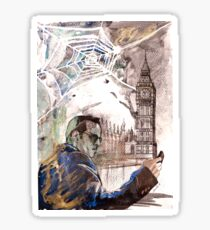 Sherlock: Jim Moriarty Sticker
