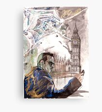 Sherlock: Jim Moriarty Metal Print