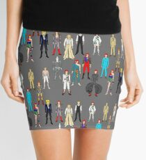 Outfits of Bowie Fashion Mini Skirt