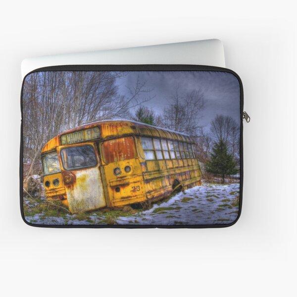 School Bus 23 Laptop Sleeve