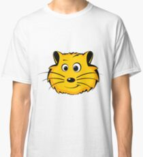 A cartoon hamster face Classic T-Shirt