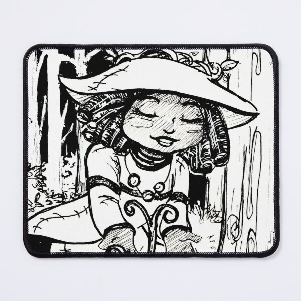 Forest Witch Mouse Pad