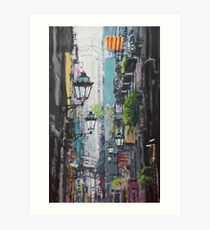 Spain Series 03 Barcelona Art Print