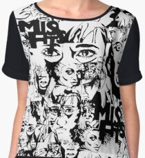 Misfits Women's Chiffon Top