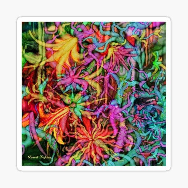 Qualia's Flowers Sticker