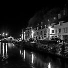 Portree Harbour at Night by derekbeattie