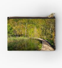 On the wooden path Studio Pouch