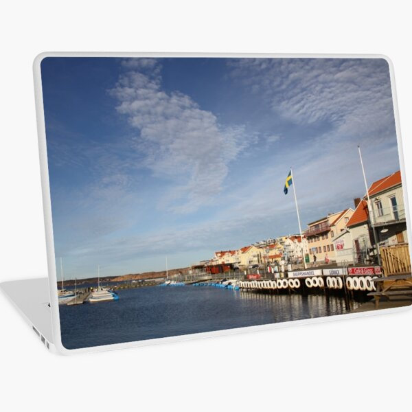 Lysekil harbour, West Sweden Laptop Skin