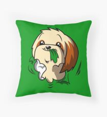 Fluffball Throw Pillow