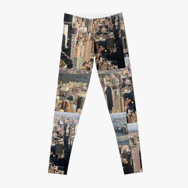 Where's Jingles in the City - Photo Art Leggings