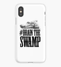 Drain The Swamp iPhone Case/Skin