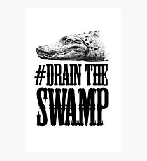 Drain The Swamp Photographic Print