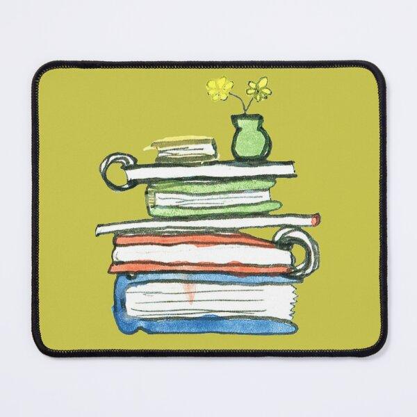 Stack o Books Mouse Pad