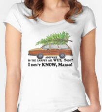 I don't KNOW, Margo! Women's Fitted Scoop T-Shirt