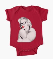 Nerdy Marilyn One Piece - Short Sleeve