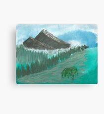 Willow Valley Canvas Print