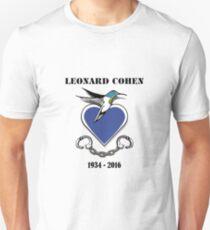 RIP Leonard Cohen Unisex T-Shirt