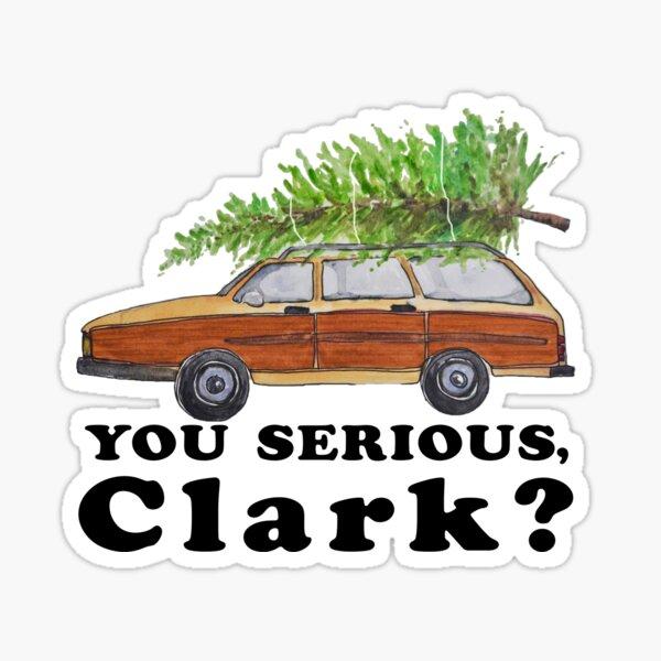 You serious, Clark? Sticker