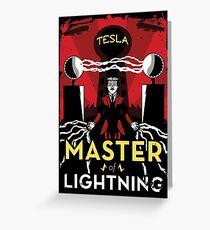 Master of Lightning Greeting Card