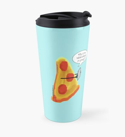 Greasy Pizza Travel Mug