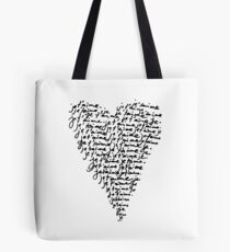 je t'aime ♥ i love you Tote Bag
