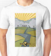 Retro Vlaanderen cycling poster Unisex T-Shirt