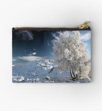 Glencoe winter landscape Studio Pouch