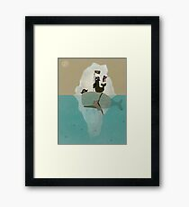 we are pirates too  Framed Print