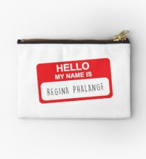 HELLO MY NAME IS REGINA PHALANGE Zipper Pouch