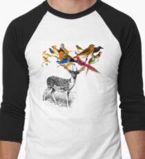 DEER BIRDY Men's Baseball ¾ T-Shirt