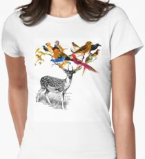 DEER BIRDY Womens Fitted T-Shirt