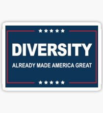 Diversity is Great Sticker