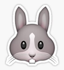 Emoji Rabbit Sticker