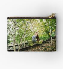 Yoga at the High Line Park, New York Studio Pouch
