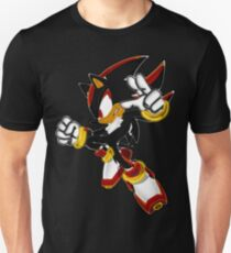 Neon Shadow The Hedgehog Unisex T-Shirt