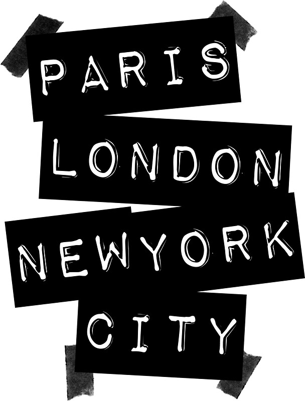 Paris london new york city