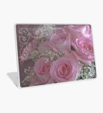 Tissue Soft Roses Laptop Skin