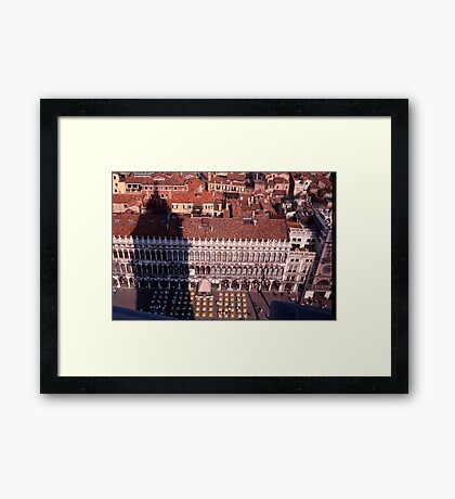 Piazza, San Marco Framed Print