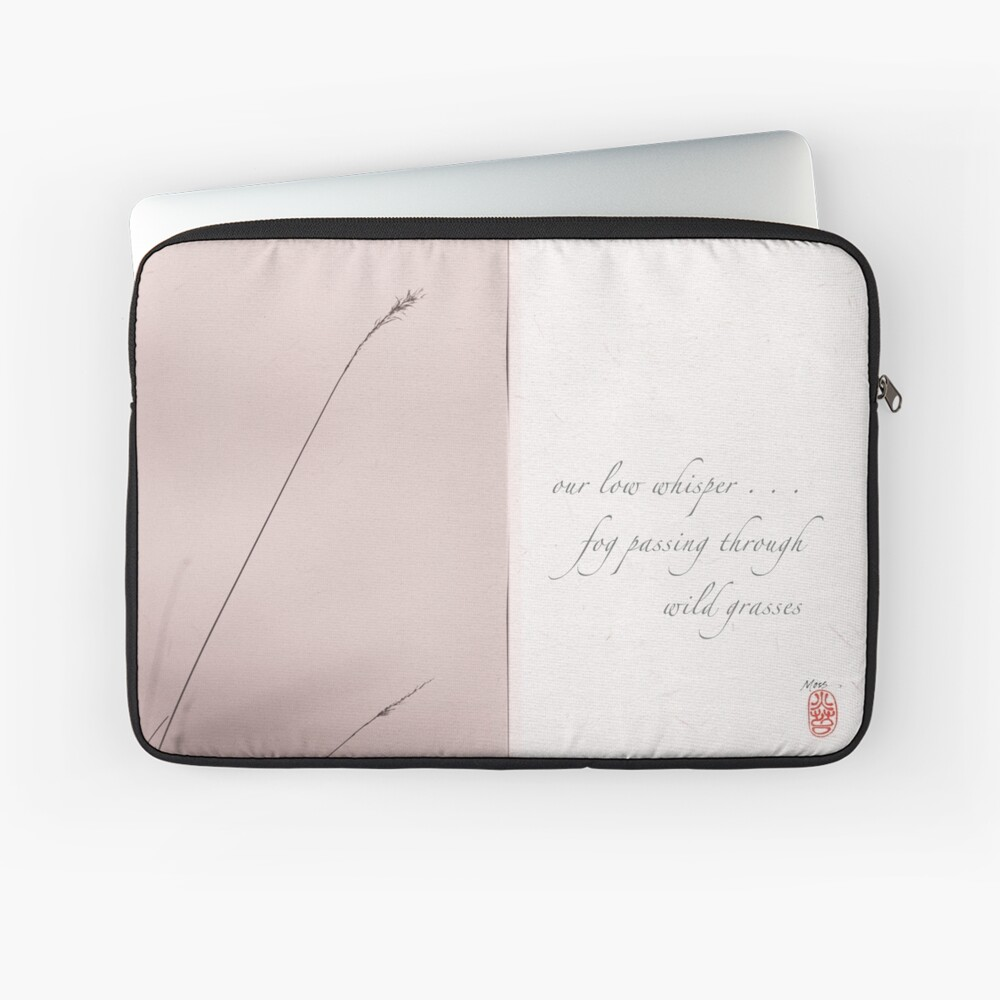 low whisper Laptop Sleeve