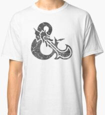 Dungeons&Dragons black ampersend Classic T-Shirt