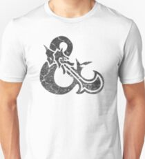 Dungeons&Dragons black ampersend T-Shirt